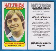 Manchester City Michael Robinson Eire